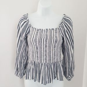 Ameican Eagle Oufitters striped blouse, size S